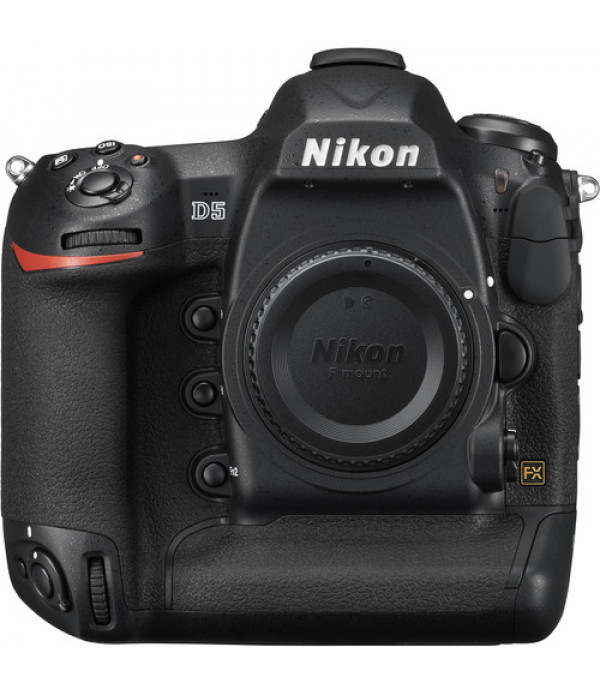 Nikon D5 DSLR Camera (Body Only, Dual XQD Slots)