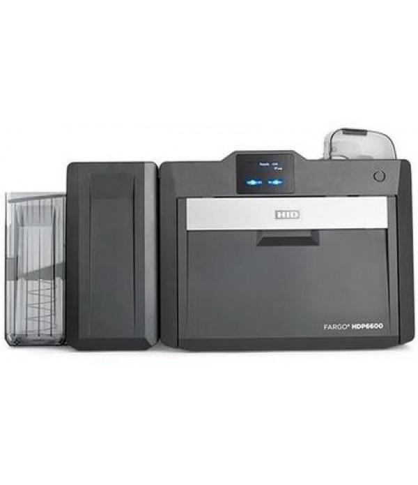Fargo HDP6600 Retransfer Dual Sided ID Card Printe...
