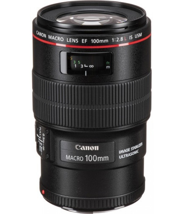 Canon EF 100mm F/2.8 Macro IS USM Lens