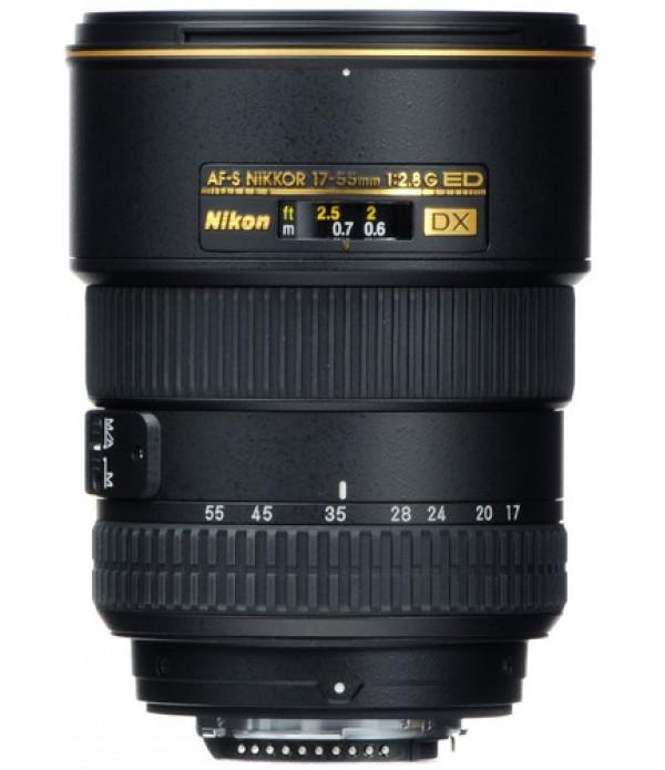 Nikon AF-S DX Zoom-NIKKOR 17-55mm f/2.8G IF-ED Len...
